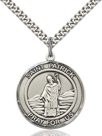 St. Patrick Sterling Silver 1""