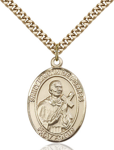 St. Martin De Porres Gold Filled 1""
