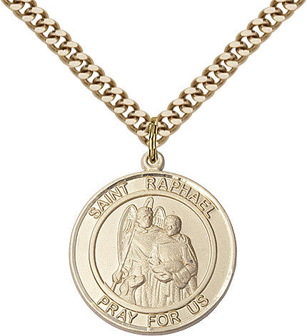 St. Raphael The Archangel Gold Filled 1""