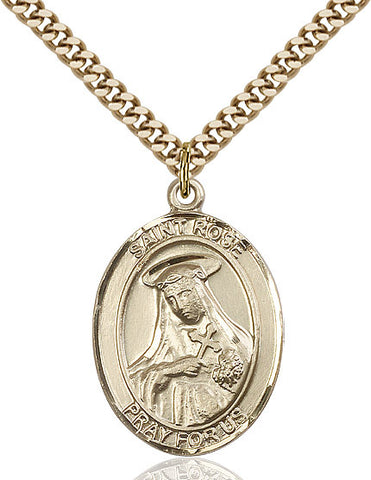 St. Rose Of Lima Gold Filled 1""