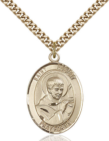 St. Robert Bellarmine Gold Filled 1""