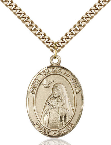 St. Teresa Of Avila Gold Filled 1""