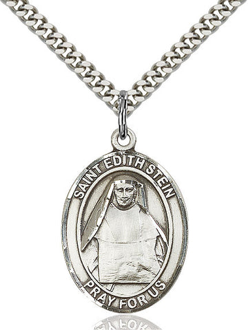 St. Edith Stein Sterling Silver 1""