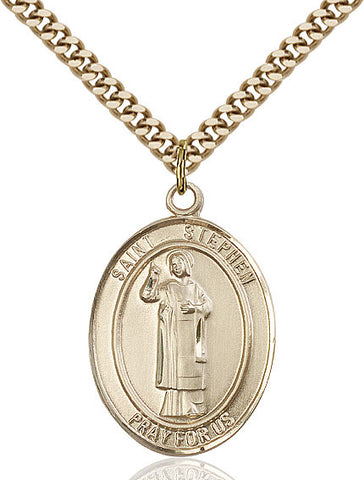 St. Stephen The Martyr Gold Filled 1""