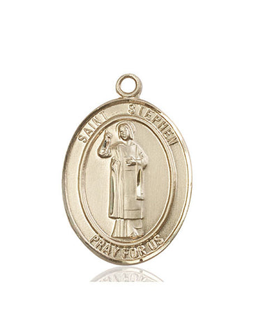 St. Stephen The Martyr 14 Kt Gold 1""