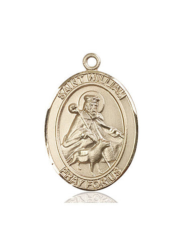 St. William Of Rochester 14 Kt Gold 1""