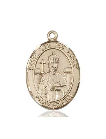 St. Leo The Great 14 Kt Gold 1""
