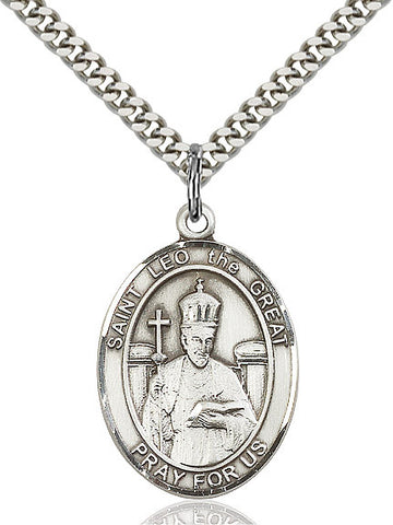 St. Leo The Great Sterling Silver 1""