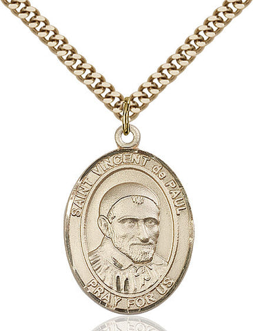 St. Vincent De Paul Gold Filled 1""