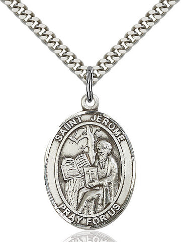 St. Jerome Sterling Silver 1""