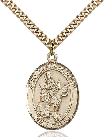 St. Martin Of Tours Gold Filled 1""
