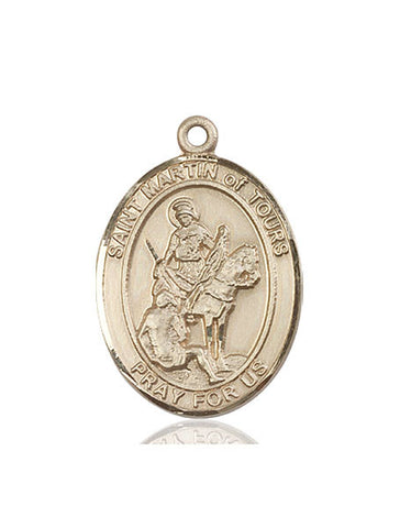 St. Martin Of Tours 14 Kt Gold 1""