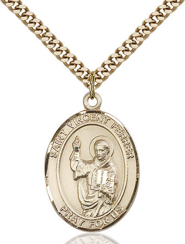 St. Vincent Ferrer Gold Filled 1""