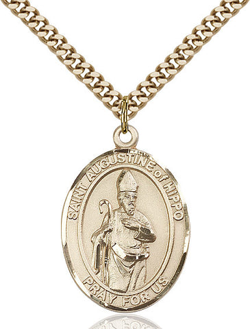 St. Augustine Of Hippo Gold Filled 1""