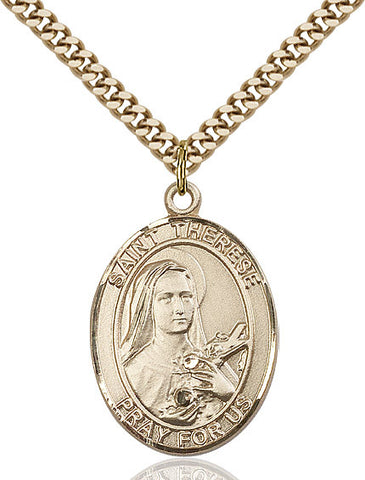 St. Therese Of Lisieux Gold Filled 1""