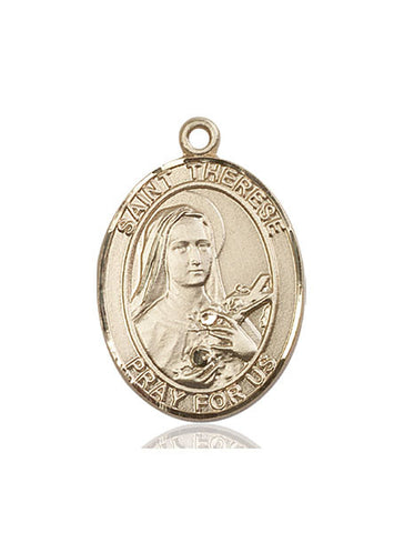 St. Therese Of Lisieux 14 Kt Gold 1""