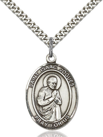 St. Isaac Jogues Sterling Silver 1""