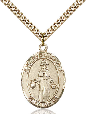St. Nino De Atocha Gold Filled 1""