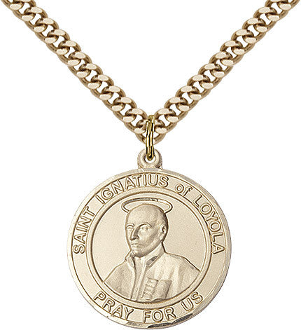 St. Ignatius Of Loyola Gold Filled 1""