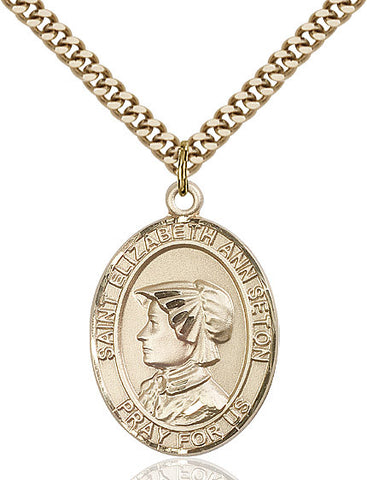 St. Elizabeth Ann Seton Gold Filled 1""