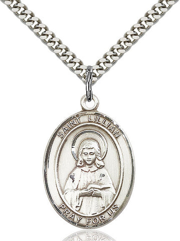 St. Lillian Sterling Silver 1""