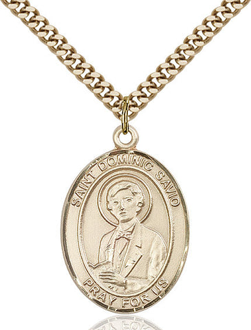 St. Dominic Savio Gold Filled 1""