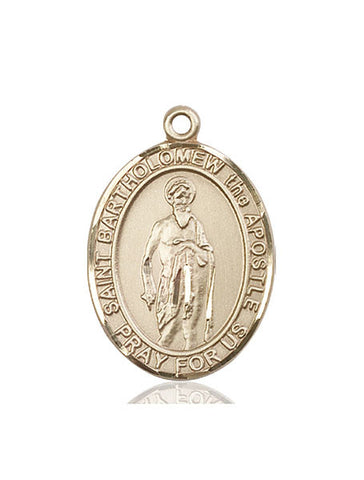 St. Bartholomew The Apostle 14 Kt Gold 1""