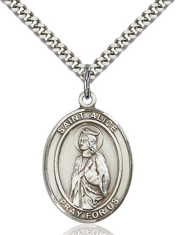 St. Alice Sterling Silver 1""