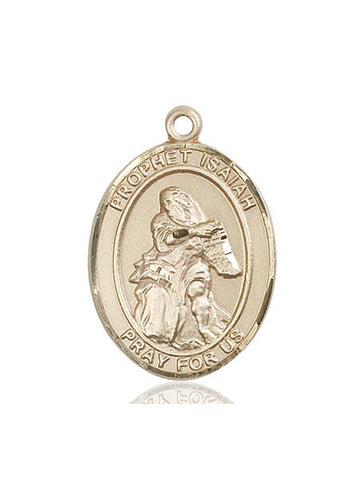 St. Isaiah 14 Kt Gold 1""