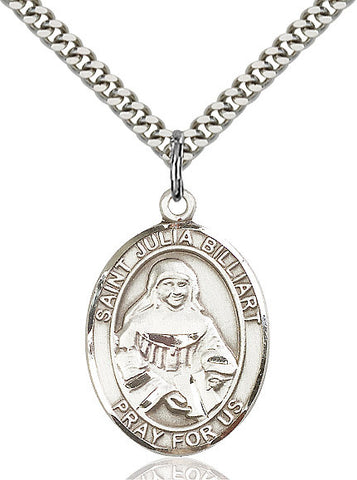 St. Julia Billiart Sterling Silver 1""