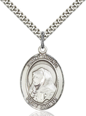 St. Bruno Sterling Silver 1""