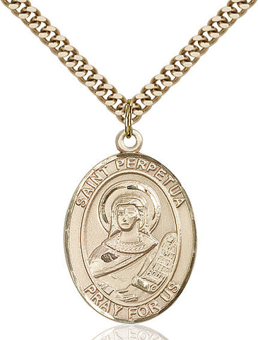 St. Perpetua Gold Filled 1""