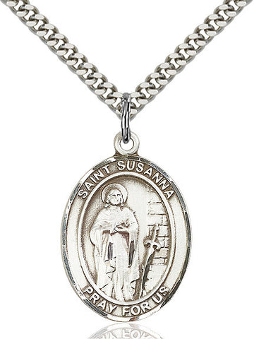 St. Susanna Sterling Silver 1""