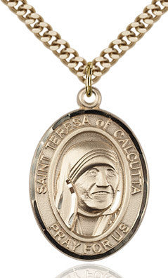 St. Mother Teresa Gold Filled Medal