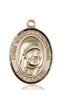 St. Mother Teresa 14Kt. Gold Medal