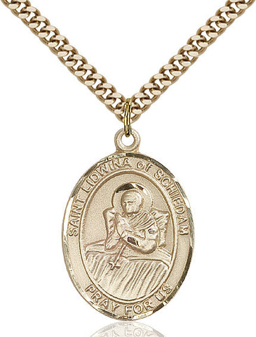 St. Lidwina Of Schiedam Gold Filled 1""