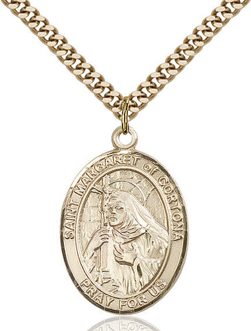 St. Margaret Of Cortona Gold Filled 1""