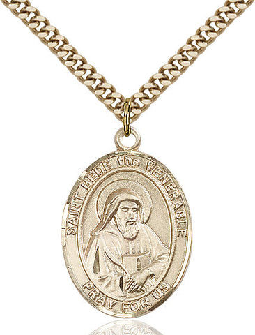 St. Bede The Venerable Gold Filled 1""
