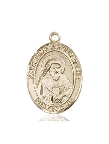 St. Bede The Venerable 14 Kt Gold 1""