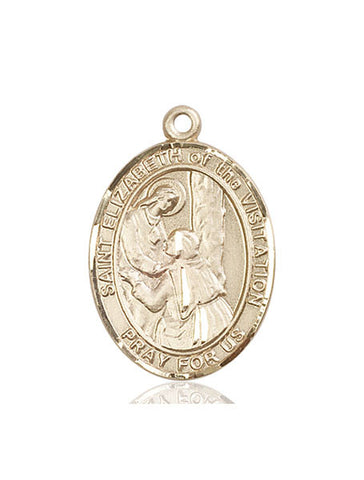 St. Elizabeth Of The Visitation 14 Kt Gold 1""