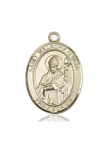 St. Malachy O'more 14kt Gold 1""