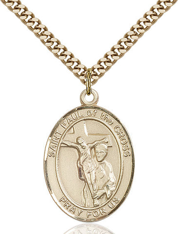 St. Paul Of The Cross Gold Filled 1""
