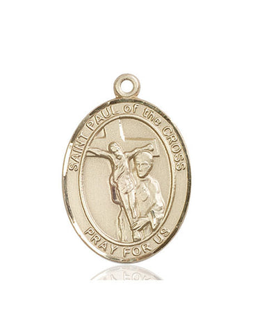 St. Paul Of The Cross 14 Kt Gold 1""