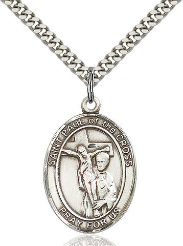 St. Paul Of The Cross Sterling Silver 1""