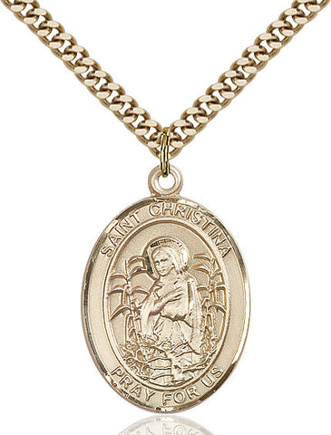 St. Christina The Astonishing Gold Filled 1""