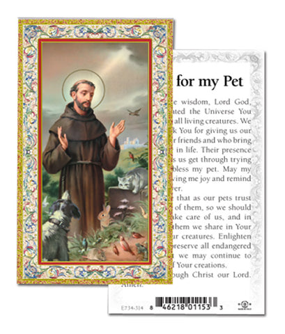 Prayer for my Pet
