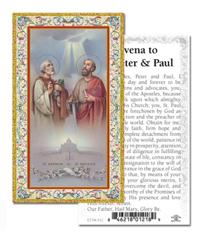 Novena to Sts. Paul and Peter