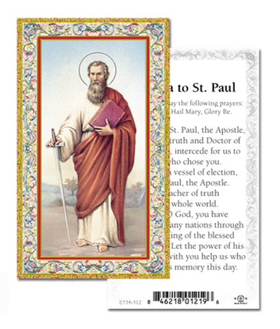 Novena to St. Paul