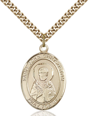 St. John Chrysostom Gold Filled 1""
