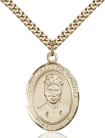St. Josephine Bakhita Gold Filled 1""